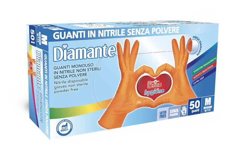 Guanto diamante