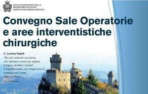 Convegno: Sale operatorie e aree interventistiche chirurgiche